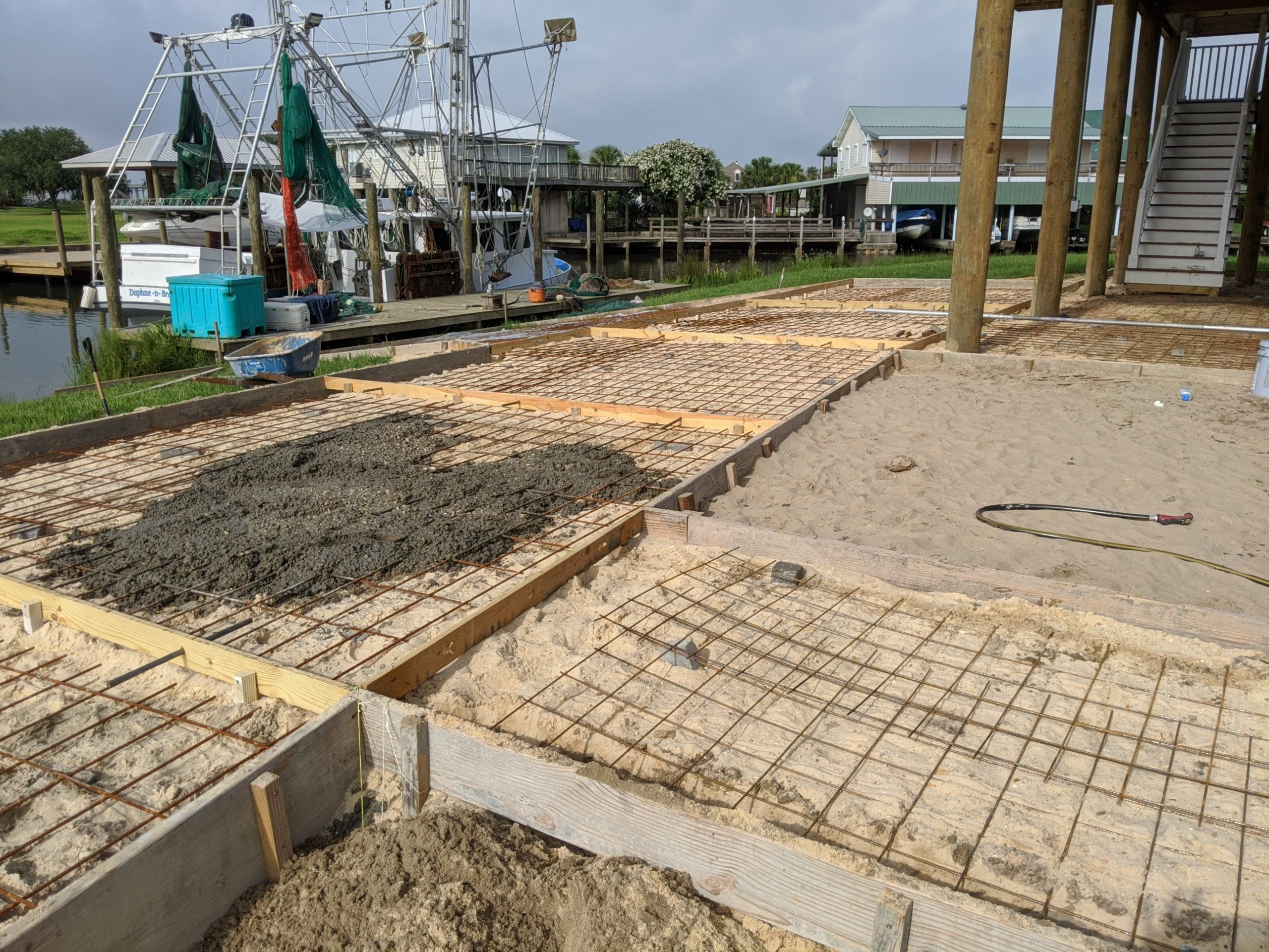 Concrete services being done in Port st Lucie