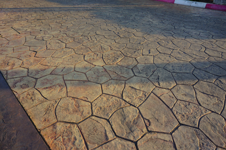 stamped concrete in New Orleans